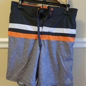 Exposure  - Orange and Gray Swims - Size XL